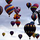 A Mass Of Hot Air by © Loree McComb