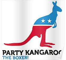 Political Party Animals: Kangaroo Poster