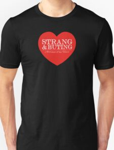 Strang & Buting - Attorneys Of My Heart - Black T-Shirt