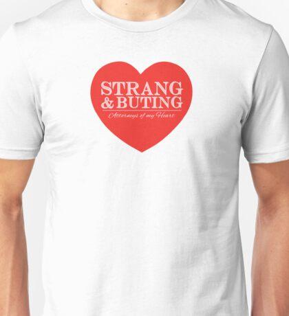 Strang & Buting - Attorneys Of My Heart - White Unisex T-Shirt