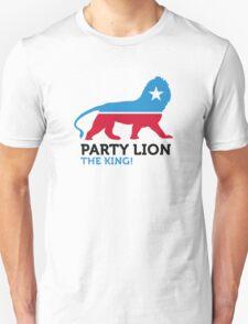 Political Party Animals: Lion T-Shirt