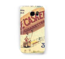 Vintage poster - The Casket Cigarettes Samsung Galaxy Case/Skin