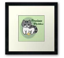 Precious Pickles Framed Print