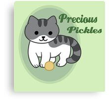 Precious Pickles Canvas Print