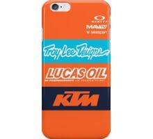 Troy lee designs KTM Team iPhone Case/Skin