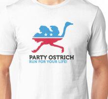 Political Party Animals: ostrich Unisex T-Shirt