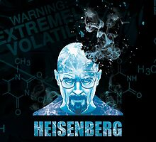 Heisenberg Blue Crystal for Phone Case by Yakei