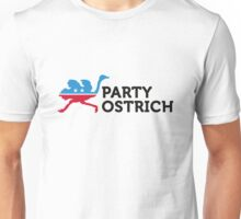 Political Party Animals: ostrich Unisex T-Shirt