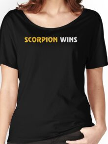 Scorpion Wins Women's Relaxed Fit T-Shirt