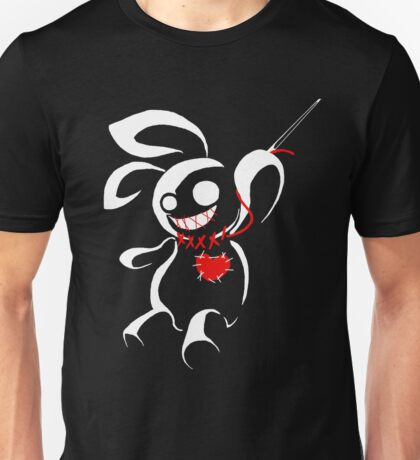Contrasp - Hiding in the dark voodoo bunny Unisex T-Shirt