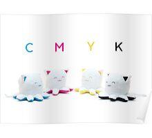 Taneko: CMYK Inks Poster