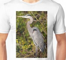 STOCK ~ Great Blue Heron #3 Unisex T-Shirt