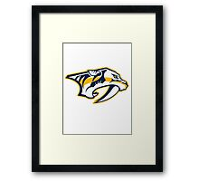 Nashville Predators Framed Print