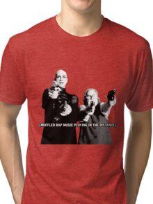 Liz & Iris Tri-blend T-Shirt