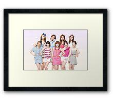 Girls Generation SNSD by bima Framed Print