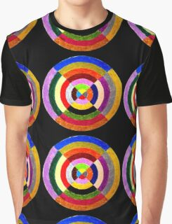 Color Swirl Graphic T-Shirt