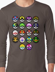Pokeball Art Long Sleeve T-Shirt