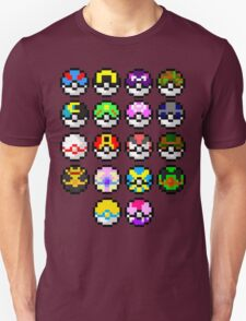 Pokeball Art T-Shirt