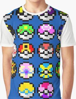Pokeball Art Graphic T-Shirt