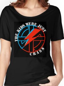 The Kids Were Just Crass Women's Relaxed Fit T-Shirt