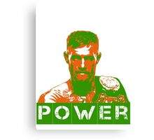 Power - Conor Mcgregor Canvas Print