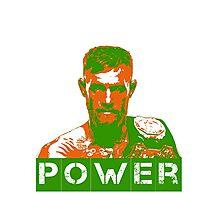 Power - Conor Mcgregor Photographic Print