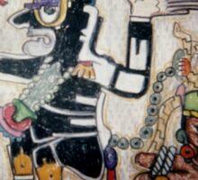 Aztec God of War Sticker