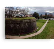 The Wall Of Lucca Canvas Print