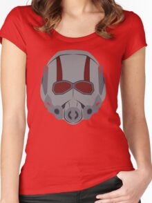 A Small Man Helmet Women's Fitted Scoop T-Shirt