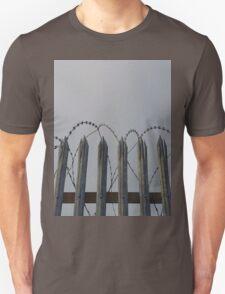 Razor-wire fence T-Shirt