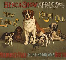 'Kennel Club' Vintage Poster by Roz Abellera Art Gallery