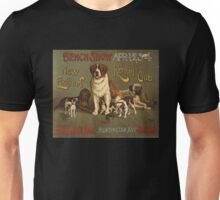 'Kennel Club' Vintage Poster Unisex T-Shirt
