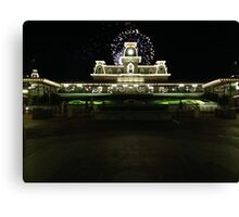 Station Wishes Canvas Print