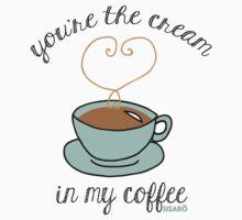 Cream in my Coffee Kids Tee