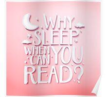 Why sleep v.2 Poster