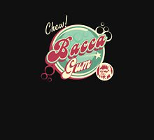 """Chew """"Bacca"""" gum! Womens Fitted T-Shirt"""