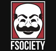Fsociety Is A Hero by myxzyptlx