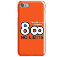 DEMARYIUS THOMAS, NO LIMITS iPhone Case/Skin