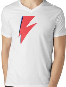 David Bowie - Aladdin Sane Mens V-Neck T-Shirt