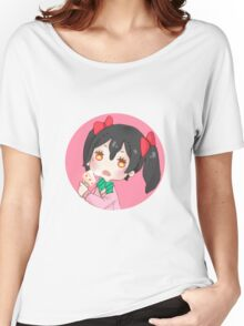 LOVE LIVE! Cake Nico Women's Relaxed Fit T-Shirt