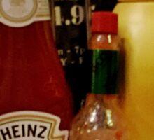 Condiments  Sticker