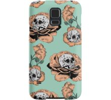 Flower Skull Pattern Samsung Galaxy Case/Skin
