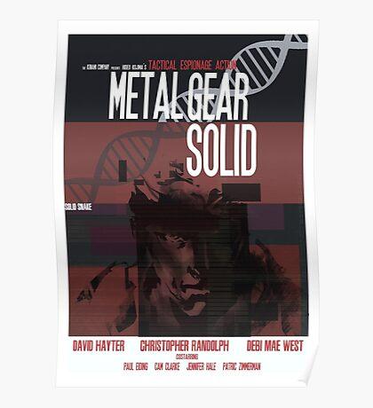 Solid - Metal Gear Poster