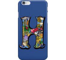 Doodle Letter H iPhone Case/Skin