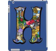 Doodle Letter H iPad Case/Skin