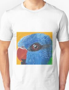 Rainbow Lorikeet Portrait Unisex T-Shirt