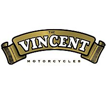 The Vincent Motorcycle UK Photographic Print
