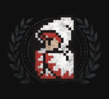 White Mage - Sprite Badge by garudoh