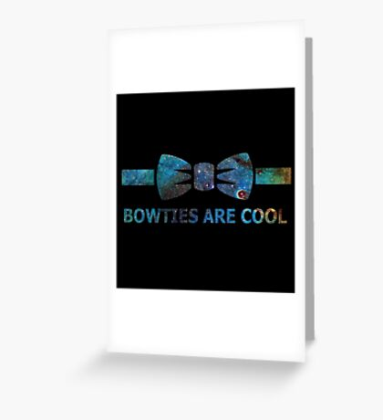 galactic bowtie Greeting Card