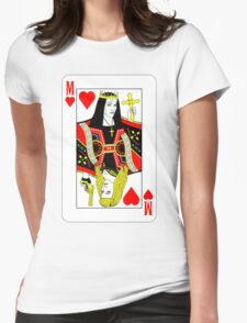 MDNA Card - GOOD Womens Fitted T-Shirt